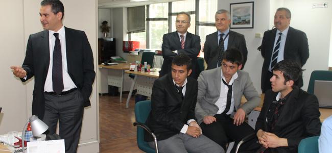 GROUPAMA Sigorta A.Ş. Ankara Bölge Müdürlüğü Ziyareti
