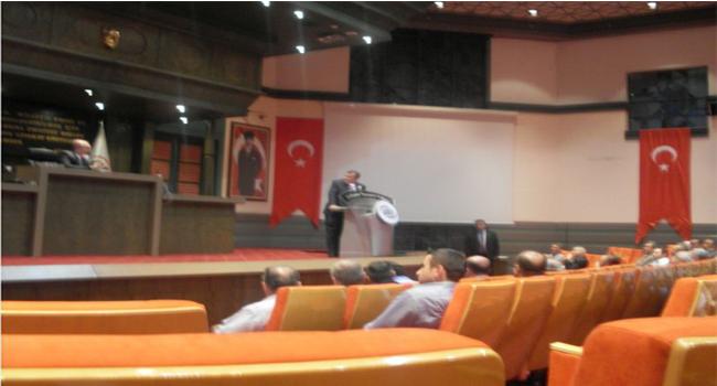 """28 Mayıs 2013 Salı günü Ankara Ticaret Odası 67 Nolu Sigortacılık Meslek Komitesi tarafından ATO'da düzenlenen """"Acenteleri Dinliyoruz"""" konulu  toplantı yapıldı."""